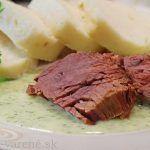 Berlínske rezy   Pečené-varené.sk Great Recipes, Mashed Potatoes, Steak, Cooking Recipes, Beef, Treats, Health, Ethnic Recipes, Basket