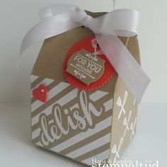 Homemade for You Stamp Set and Baker's Box Thinlits Dies Stampin' Up!
