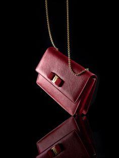 Bold red by Ferragamo. #bloomiesyearofthehorse