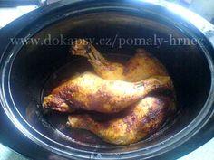 Kuřecí stehna pečená v pomalém hrnci Crock Pot, Ph, Slow Cooker, Sausage, Meat, Food, Sausages, Essen, Crockpot