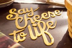 Say cheese to life by Juan Antía, via Behance