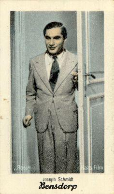 Joseph Schmidt Joseph Schmidt, Harry Belafonte, Opera Singers, Cabaret, Musicals, Songs, History, Movies, Image