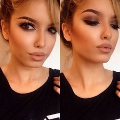 Natural Makeup Tips Perfect Makeup, Gorgeous Makeup, Love Makeup, All Things Beauty, Beauty Make Up, Hair Beauty, Makeup Goals, Makeup Tips, Kiss Makeup