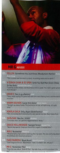 Dj Mag    MR G Top Ten   N'Dinga Gaba & DJ Spen - Until You   Quantize Records