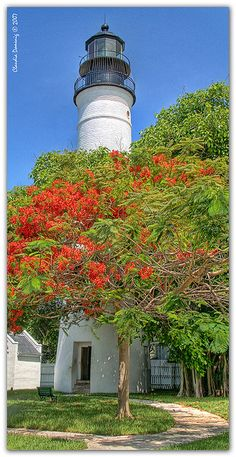 Climed to the top and what a beautiful view.Key West Lighthouse (1848), Key West, FL