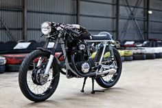 The Black: a stealthy Honda CB350 from Australia | Bike EXIF