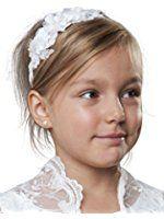 MGT-Shop Mädchen Kommunionshaarschmuck Haargesteck Haarschmuck Haarreif Haarkranz O7 http://amzn.to/2rxb0rZ