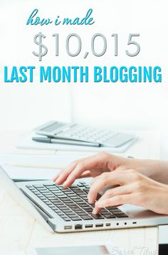Before my blog turned a year old, I was making over $10,000/month. Here's the long anticipated full income report on how I made $10,015 last month blogging.