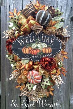 Autumn Wreath by BaBamWreaths