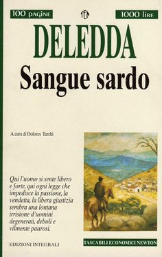 Sangue sardo - Grazia Deledda - 3 recensioni su Anobii