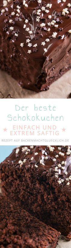 Mein liebstes Rezept für einen klassischen, sehr saftigen Schokokuchen in der Kastenform, der auf Festen, Kindergeburtstagen und Co. immer gut ankommt. Durch die Mandeln und Schokoraspel wird der Schokoladenkuchen besonders fein.