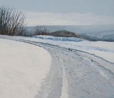 Hilary DYMOND, Winter paths référence 3035