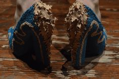 Venus' shoes handmade by Carmelo Brustia, italian artist