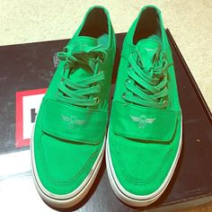 Men's Creative Recreation Green size 9.5 Men's Creative Recreation Green size 9.5. Only worn once! Great condition, 10 out 10! Creative recreation Shoes Sneakers