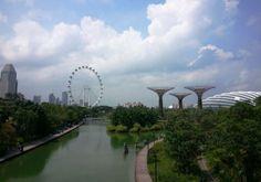 Gardens by the Bay - Singapura-  roteiro de viagem pela Ásia - jardins futuristas