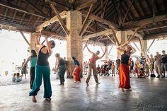 Notre groupe d'afro-contemporain lors de la Fête de la Musique le 21 juin 2014 à Grenade à Midi-Pyrénées. Photo Julien Lefebvre