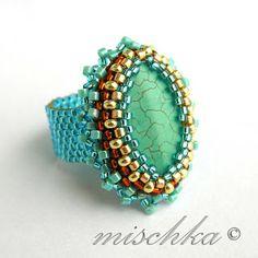 Mischka's Fantastic Beadweaving: rings rings