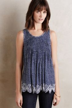 Ranna Gill Kelby Swing Tank #anthrofave