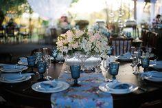 Casamento vintage: decoração da mesa