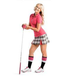 love this plaid golf skort | #Golf4Her #puma