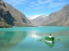 Huaraz, Peru...La Laguna de Yanganuco, Huascaran, Chavin. April 18 2014