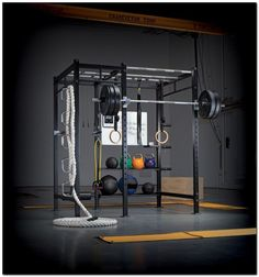 Setup Gym at Home (38) http://garageremodelgenius.com/category/garage-conversion-ideas/