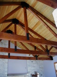 exposed beams ceiling photos | Wood Floors, Ceiling, and Paneling