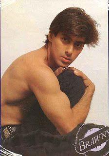 Shirtless Bollywood Men: Salman Khan