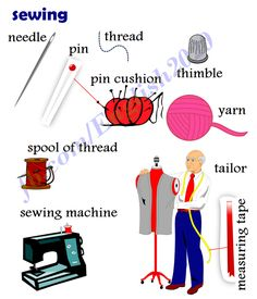 Forum | ________ Learn English | Fluent LandSewing Vocabulary | Fluent Land