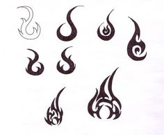 Flame Tattoo Designs by ~blackironheart on deviantART