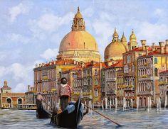 Paisajes y Bodegones: Pinturas Realistas de Paisajes Urbanos, Obras al Óleo de Guido Borelli