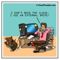 CloudTweaks - Trending tech news, thought leadership, podcasts… What Is The Cloud, Online C, Tech Humor, Instructional Technology, Paradigm Shift, Cloud Based, Cloud Computing, Comic Strips, Leadership