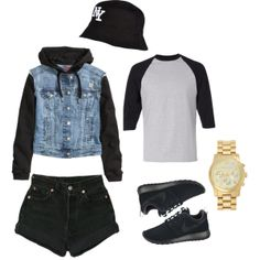 """Chilled OOTD // @D"" by heydenzy on Polyvore"