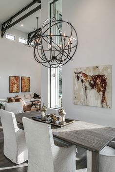 Browse our internet-site for much more all about this wonderful elegant Dining Room Room, Dining Room Lighting, Dining Room Design, Grape Kitchen Decor, Elegant Dining Room, Chandelier, Dining Room Light Fixtures, Contemporary Dining Room Design, Room Lights