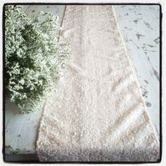 Pastel Ivory Champagne Sequin Table Cloths and Table Runners, Romantic, Beach, Winter, Spring, Glam Wedding, Baby Shower