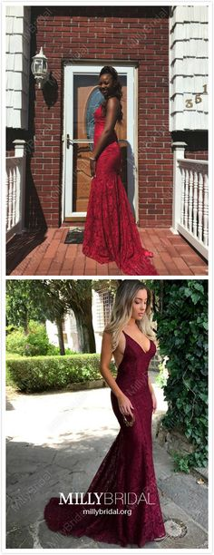 Red Prom Dresses Long, 2020 Mermaid Prom Dresses For Teens, V Neck Prom Dresses Open Back, Lace Prom Dresses Senior Cheap Homecoming Dresses, Formal Dresses For Teens, V Neck Prom Dresses, Unique Prom Dresses, Prom Dresses For Sale, Mermaid Prom Dresses, Pageant Dresses, Cute Dresses, Prom Gowns
