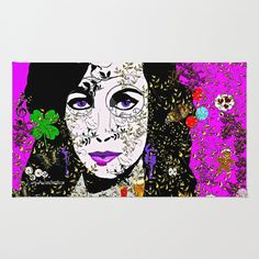My Life Is Complicated Area & Throw Rug by Saundra Myles - $28.00