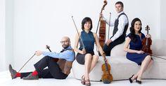 Enso String Quartet, photo credit Jurgen Frank