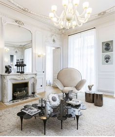 Read about it in the latest issue of @objektinternational // via @south_hill_home #Stayarmchair #Paris #luxury #elegance #interiors #Sé #nikazupanc @se_collections