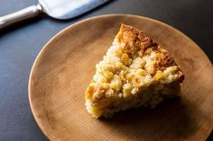Cory Schreiber & Julie Richardson's Rhubarb Buckle with Ginger Crumb on Food52