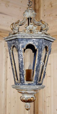 Venetian Style Lantern. This two-toned lantern chandelier caught our eye across the room! The antiqued finish makes it a perfect choice to blend with your antiques or traditional decor. Ideal for Old World ambiance! www.inessa.com