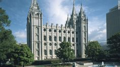 Salt Lake Temple... made CNN's list of one of the 8 religious wonders to see in the US... nice