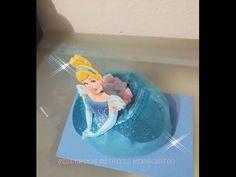 DIY como hacer dulcero de princesa castillo con Botella Pet - YouTube
