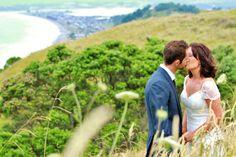 beautiful ohope wedding