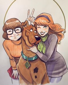 """""""Scooby and Girls"""""""