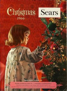 1966 Sears Christmas Catalog - oh how fun it was when the catalog came!