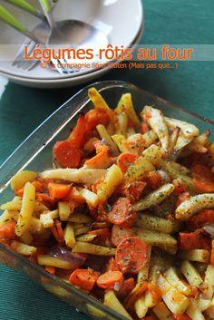 La-Compagnie-Sans-Gluten, un blog-sans-gluten-et-sans-lait !: Légumes rôtis au four