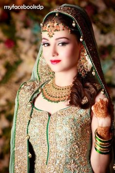 Cute Bridal in Red suite FB DP - Facebook Display Pictures