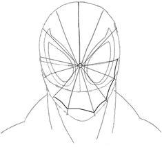 How to draw Spiderman. Learn to draw comics superhero
