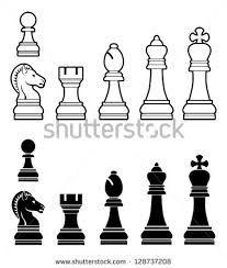 Resultado de imagem para printable craft chess template